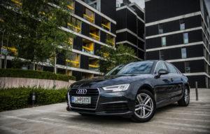 Preprost, uporaben, nemški. To je Audi A4 Basic.