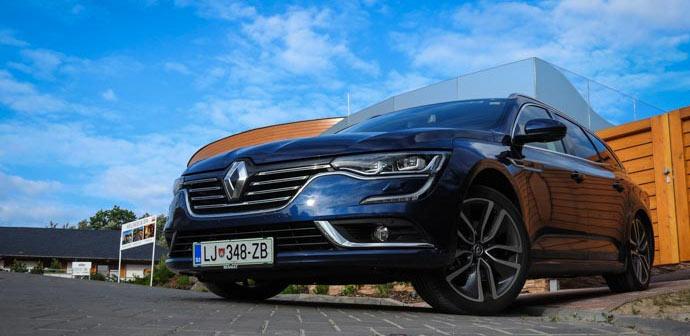 Test: Renault Talisman Gradtour (avto, ki prinaša srečo)