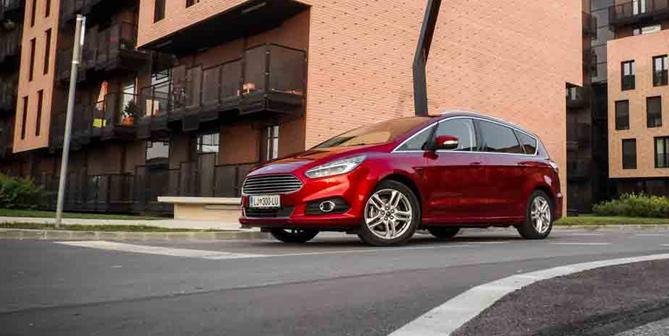 Test: Ford S-Max druga generacija (več kot družinski avtomobil)