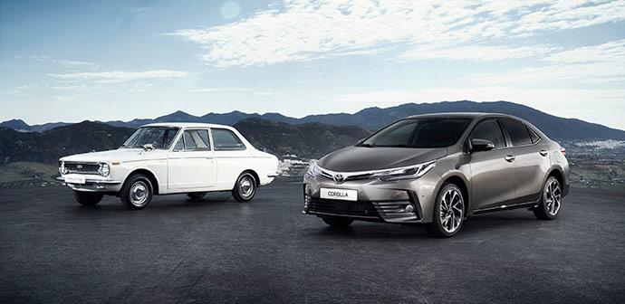 50. obletnica Toyote Corolle