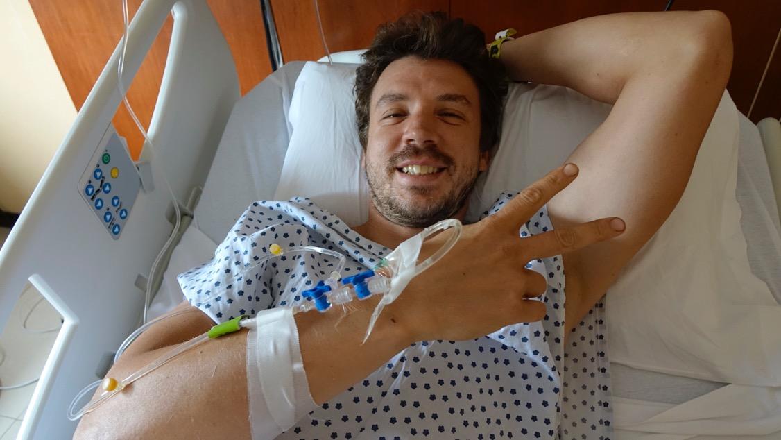 Simon Marčič, ki je uspešno prestal operacijo odprtega zloma golenice v Buenos Airesu, že sanja o Dakarju 2018