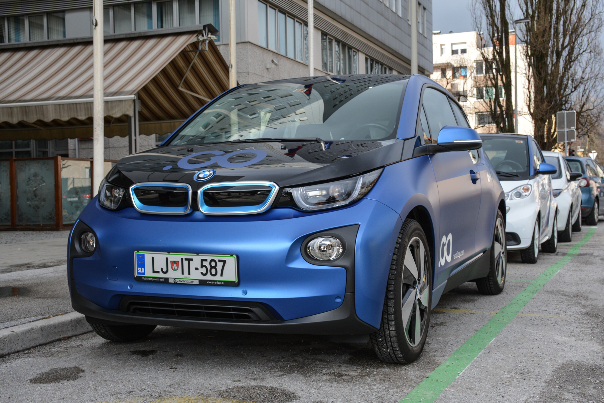 Avant2Go car sharing državna uprava