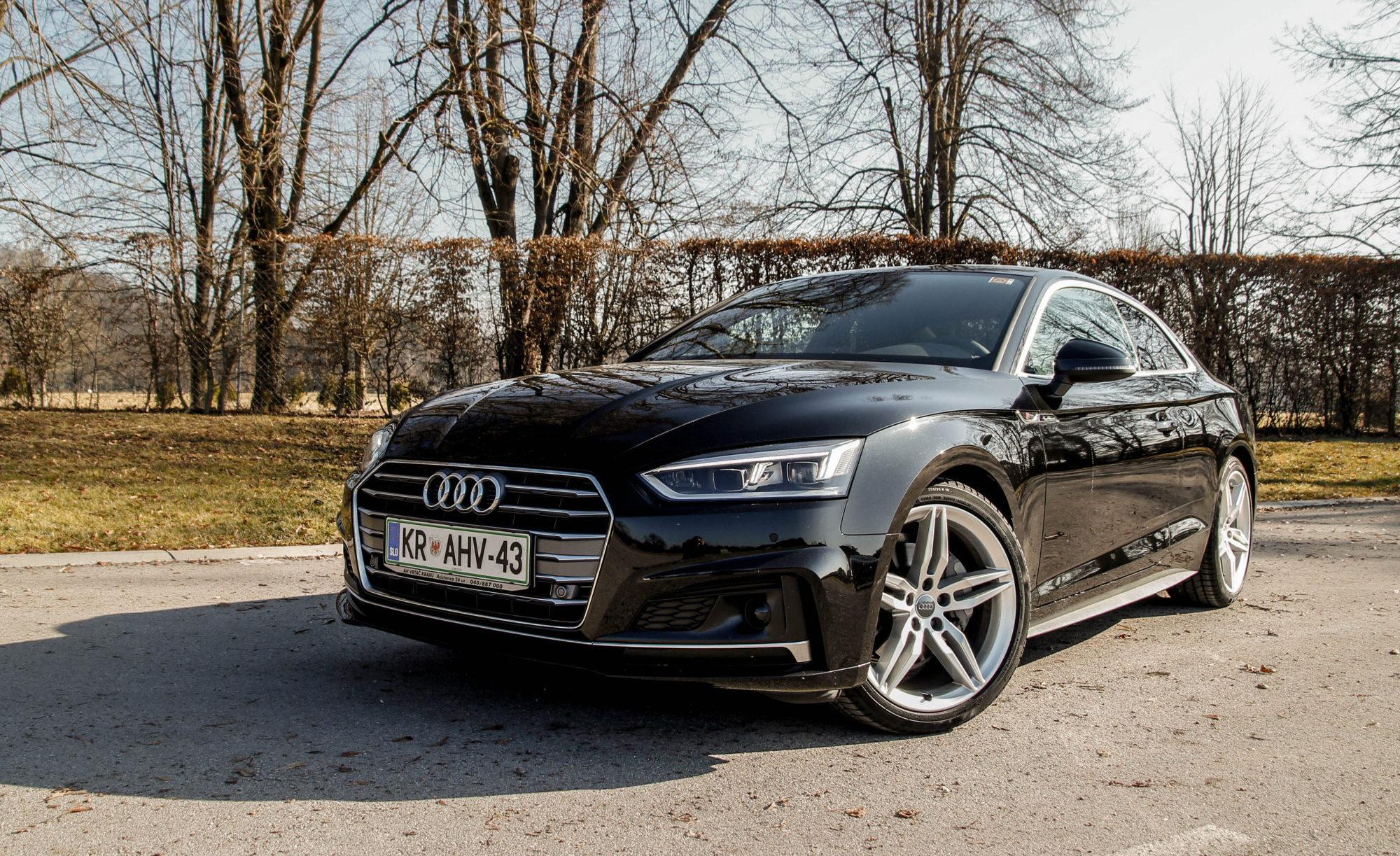 Novo doma: Audi A5 Coupe (športna eleganca)