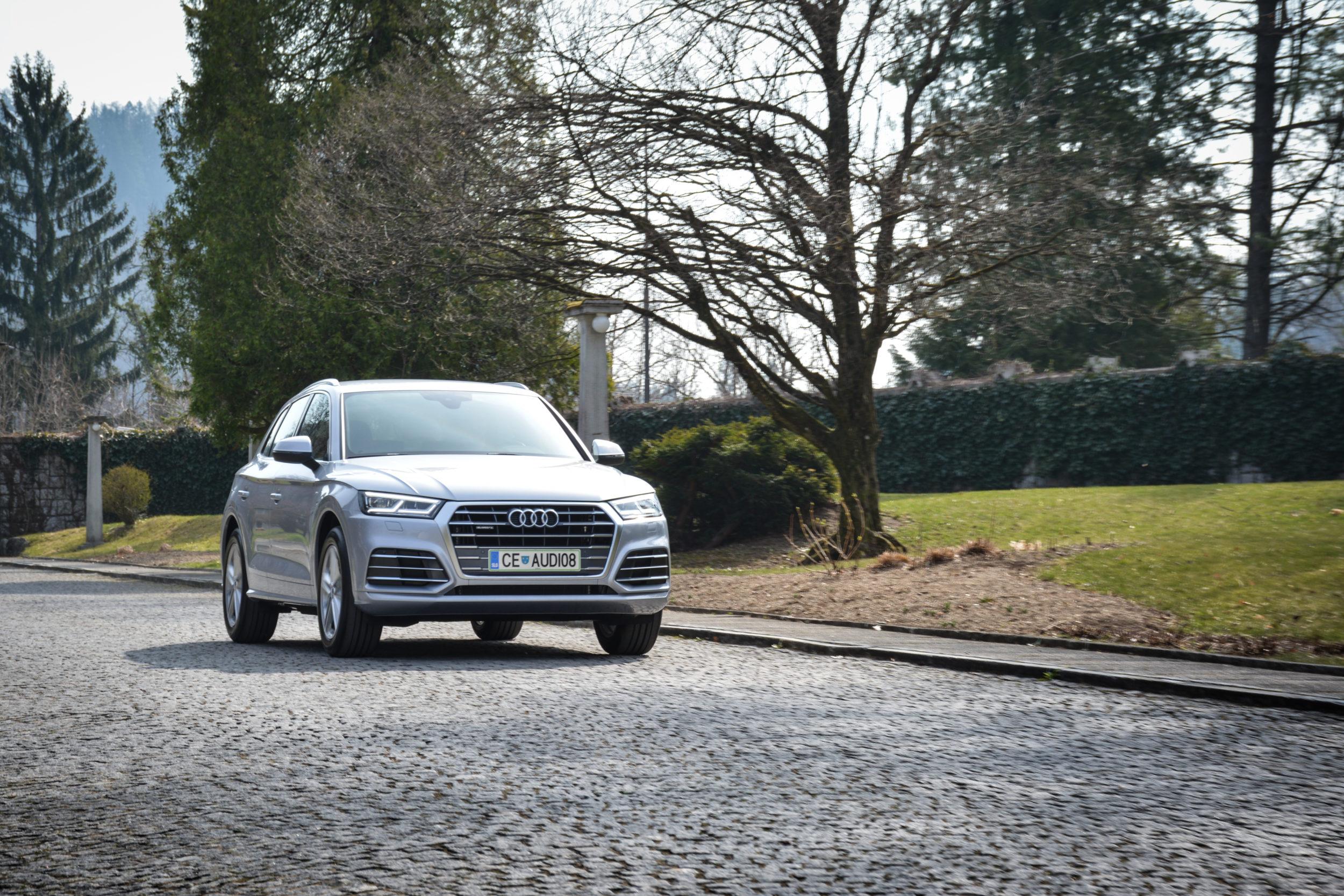Novo doma: Audi Q5 (nadgrajen že tako odličen paket)