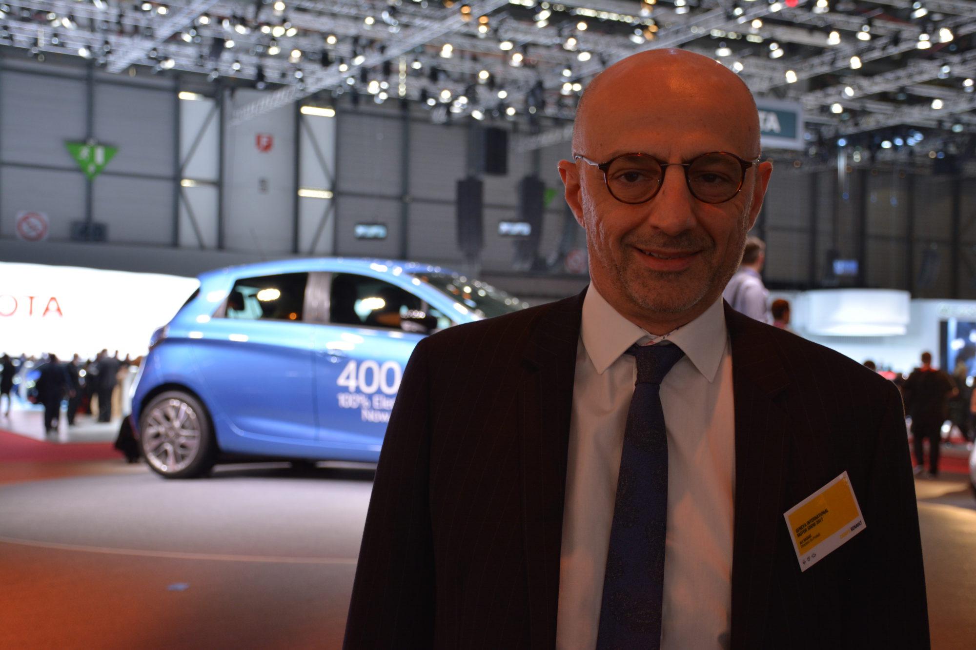 Pogovor z vodjo produktnega planiranja pri Renaultu