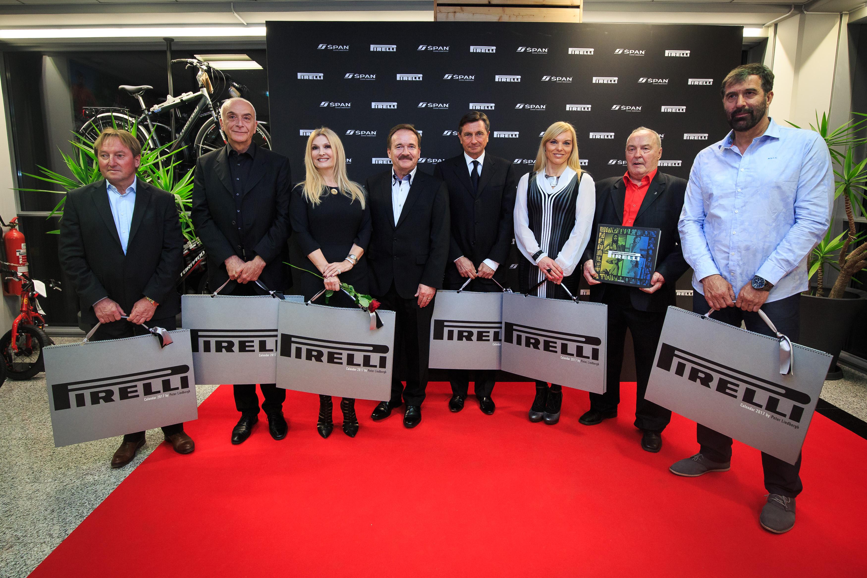 Koledar Pirelli 2017 je razkrit