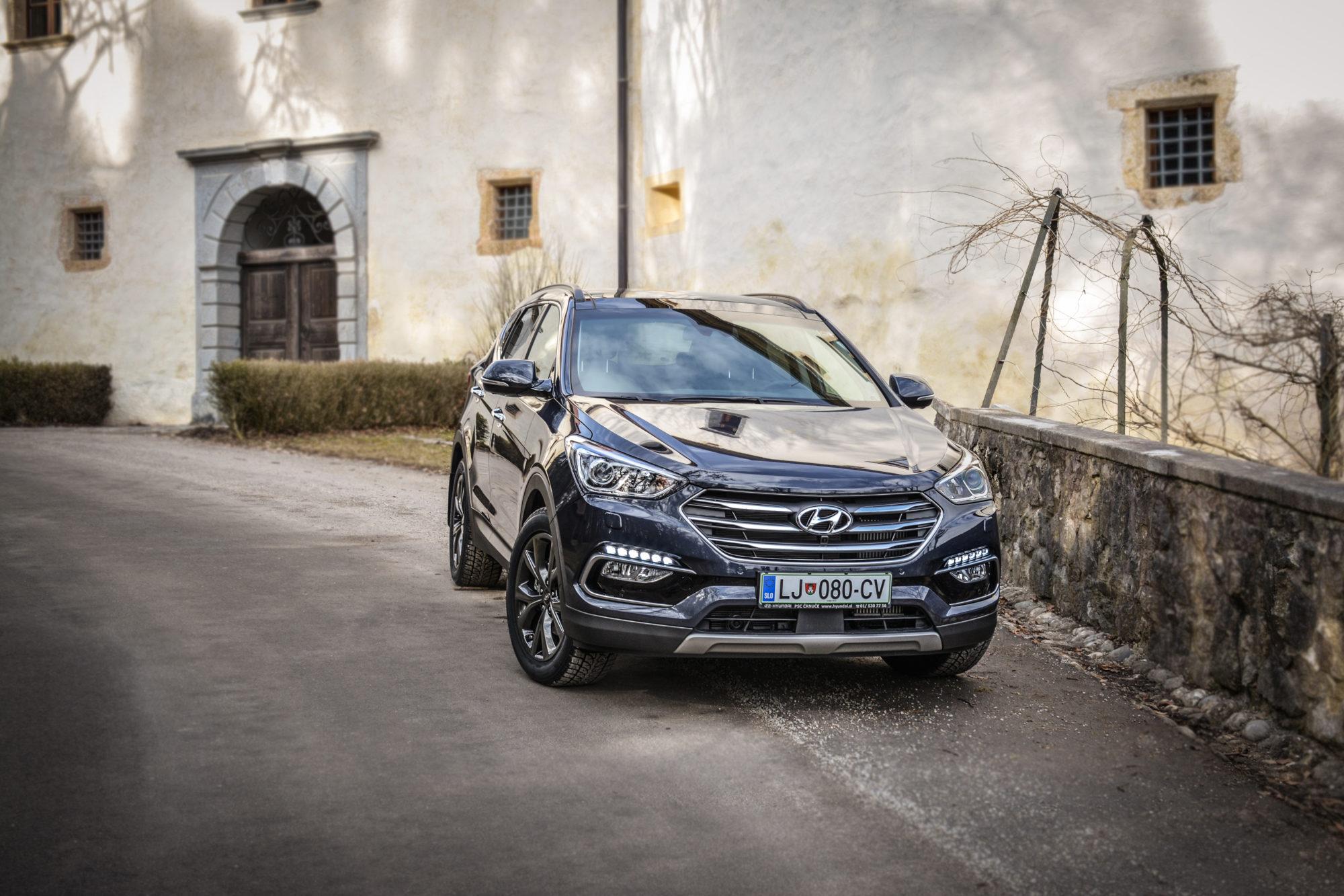 Test: Hyundai Santa Fe 2.2 CRDi 4WD (gospod SUV)