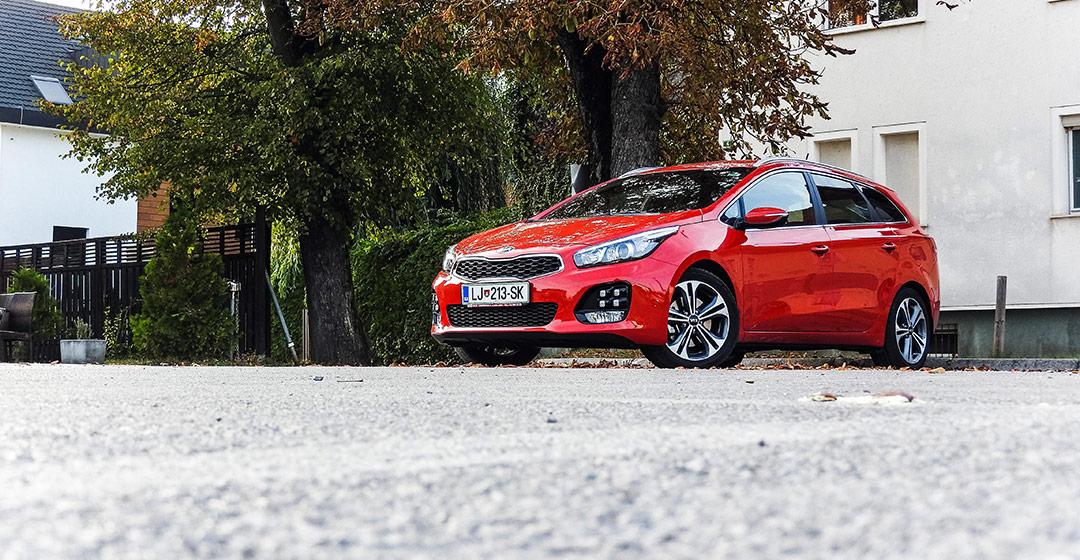 Test: Kia Ceed SportsWagon 1.6 CRDi GT Line (ugoden družinski nakup)