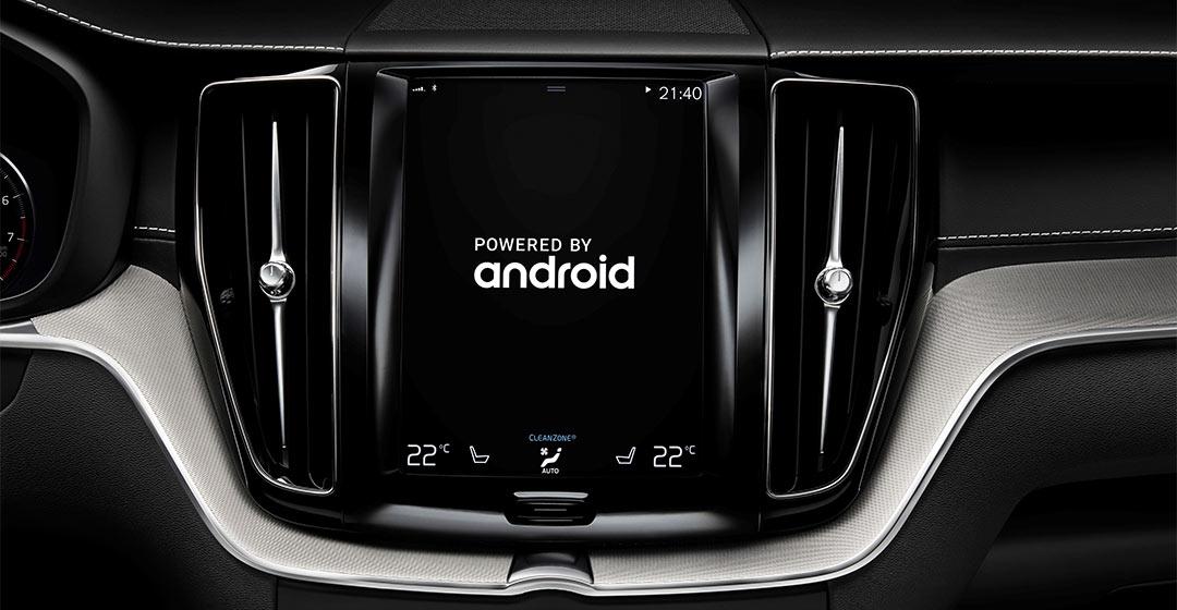 Vozila Volvo odslej s sistemom Android