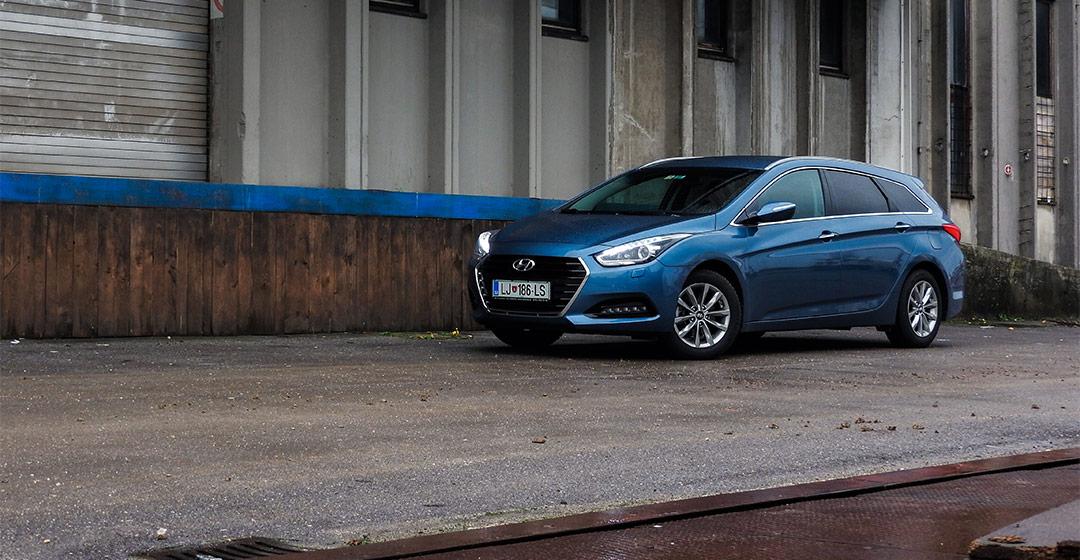 Test: Hyundai i40 wagon (družinski popotnik)