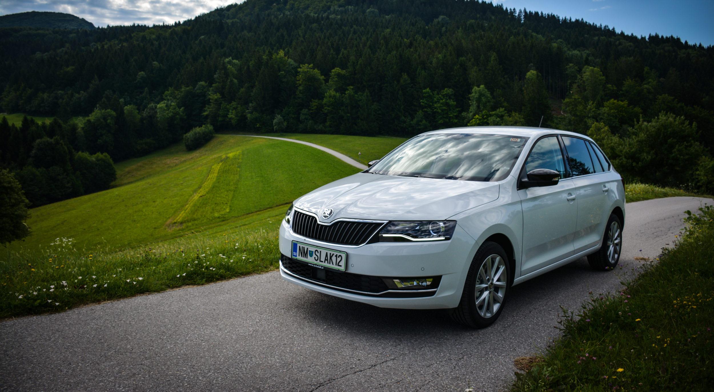 Novo doma: Škoda Rapid (osvežitev za enega od stebrov Škodinega uspeha)