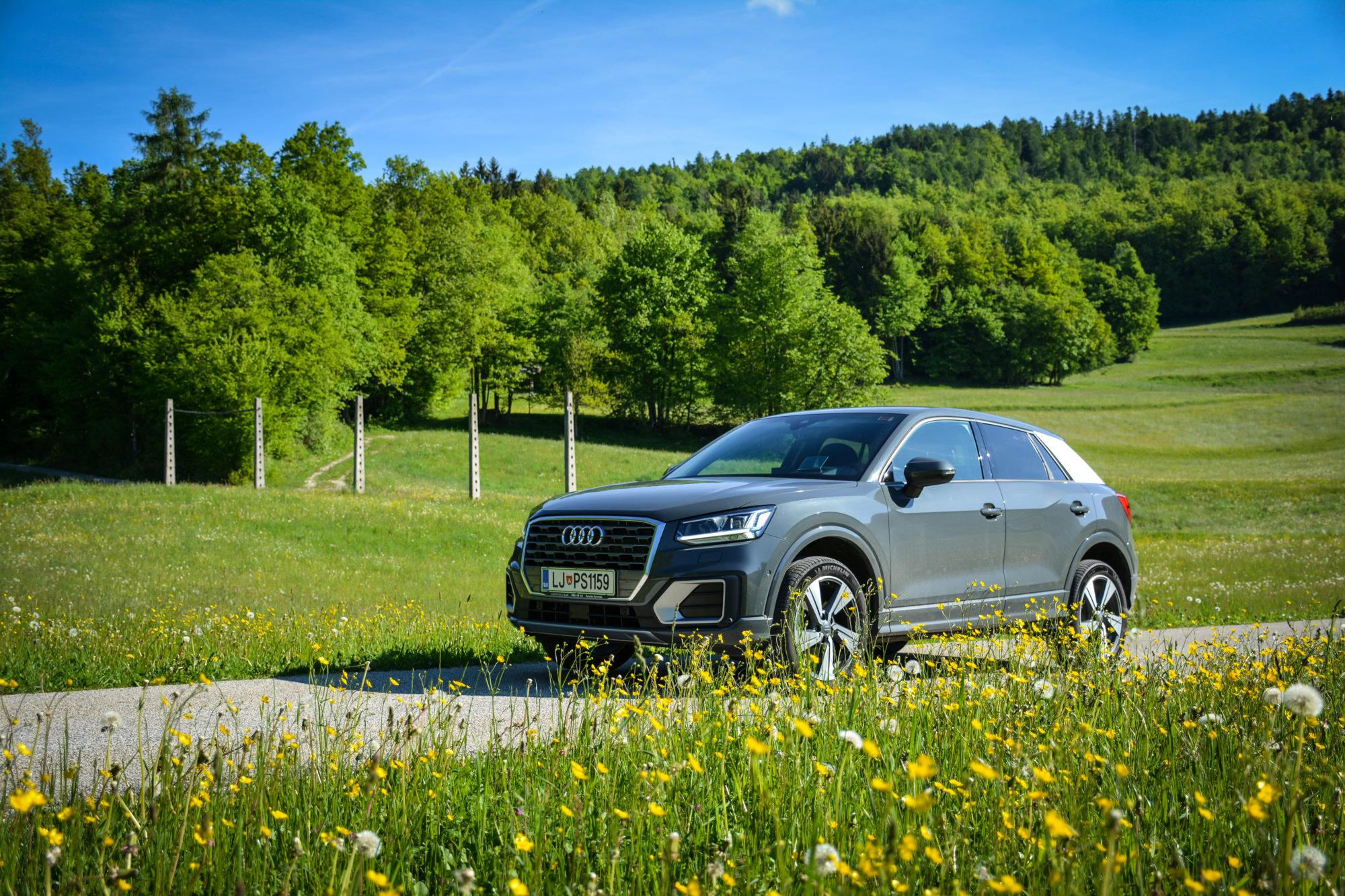 Test: Audi Q2 Sport 1.6 TDI (mamljiva, a draga vstopnica v premium crossover segment)