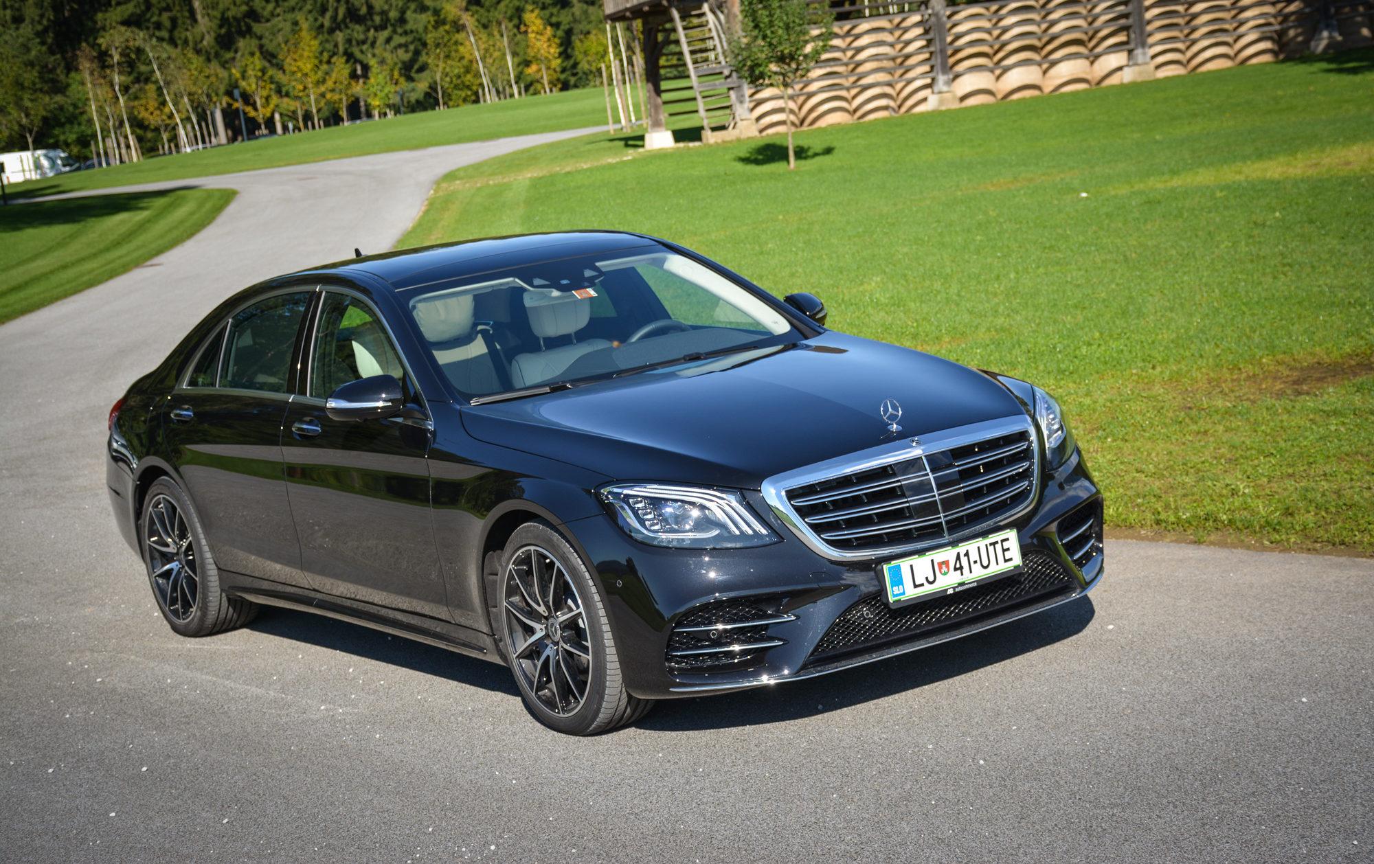 Novo doma: Mercedes-Benz S (z novo dimenzijo vožnje na prvem mestu zdravje in dobro počutje)