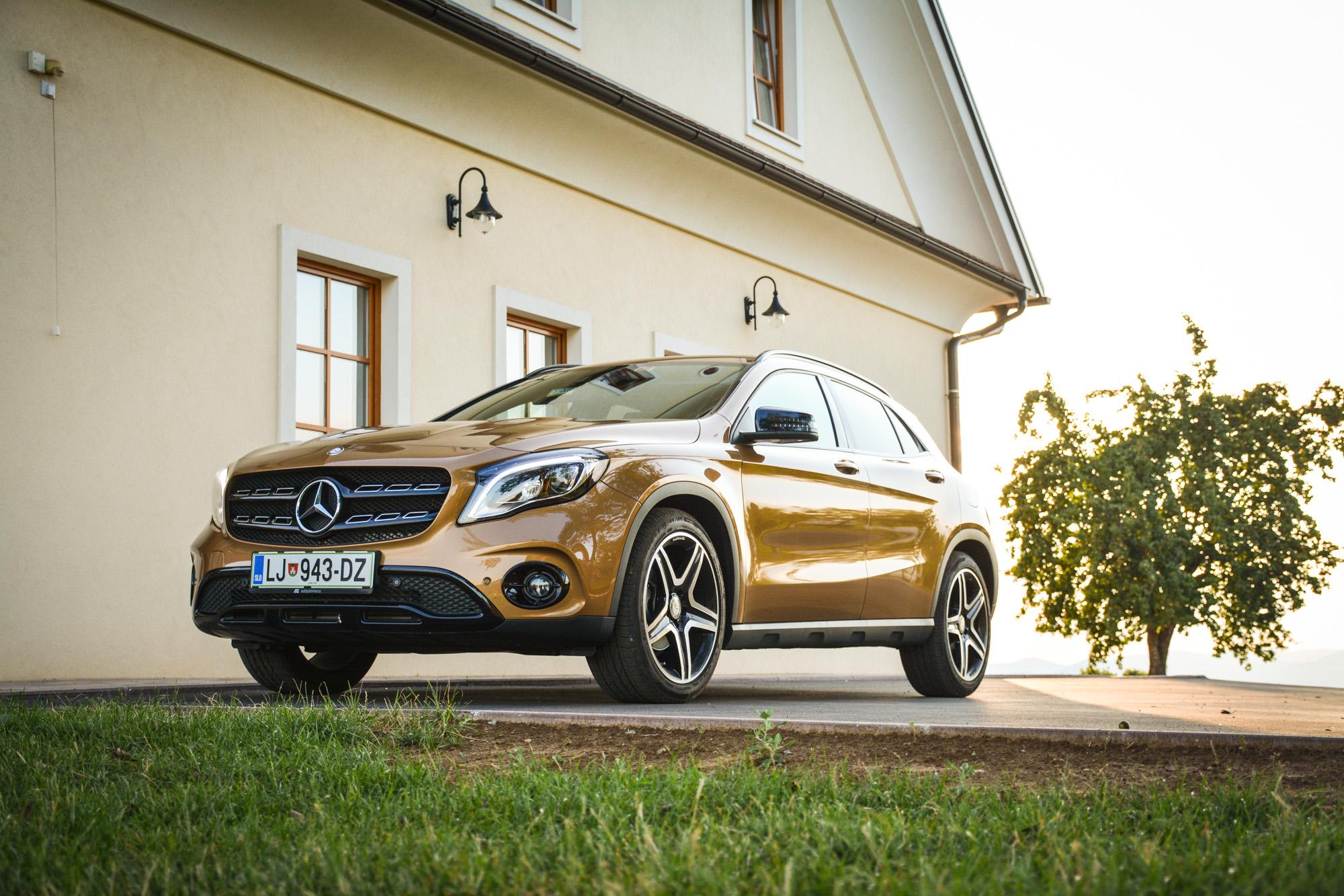 Test: Mercedes-Benz GLA 220 d 4MATIC (zvrhana mera zabave v vožnji)