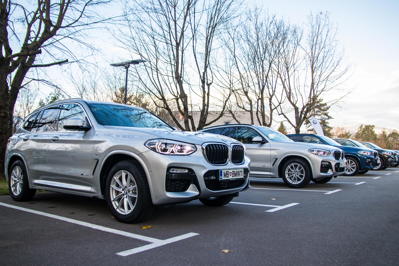 Novo doma: BMW X3 (ponovno na vrh drevesa, ki ga je posadil)