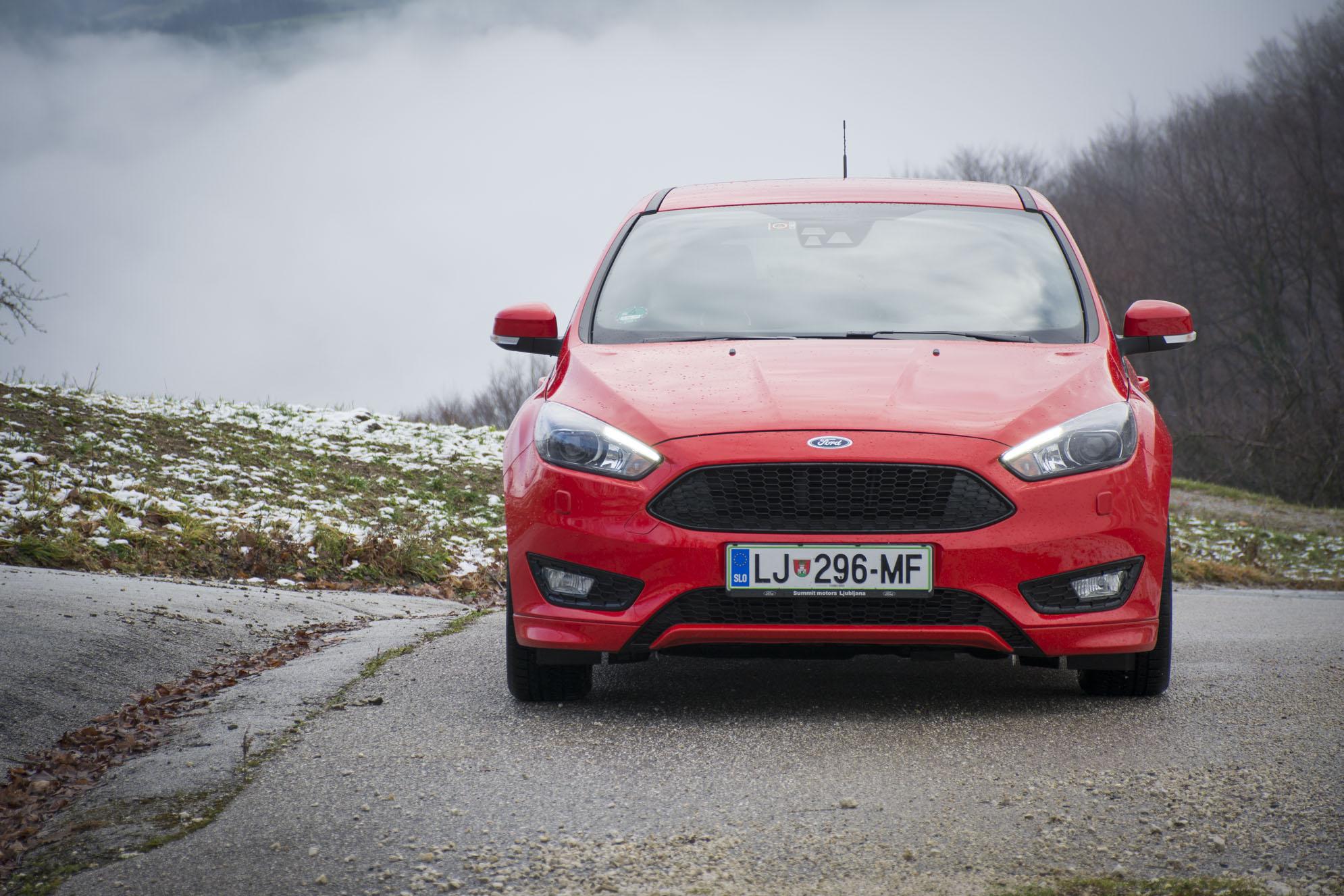 Test: Ford Focus ST-line (najboljši Focus v zreli fazi modela?)