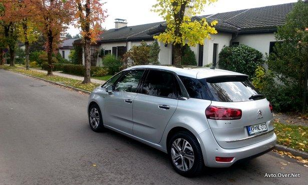 Modela C4 Picasso in Citroën Grand C4 Picasso še naprej dosegata dobre rezultate