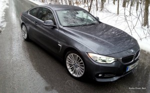 BMW 420d Coupe Luxury Line test 2014