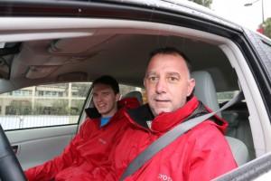 Na Rallyu Monte Carlo je Primož nastopil skupaj s sinom