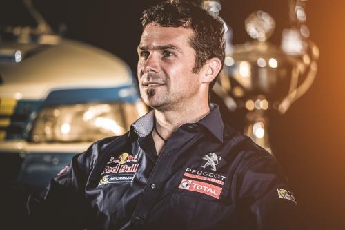 """Despres: """"Še danes se spominjam, kako je Peugeot zmagal na Dakarju, ko sem bil še otrok."""""""