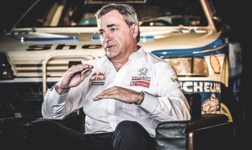 """Sainz: """"Kar se Peugeot loti v avtomobilskem športu, tudi 100 % izpelje."""""""