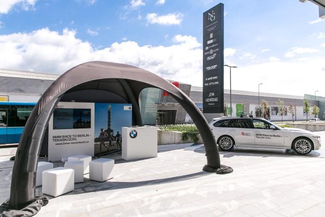 BMW race to Berlin