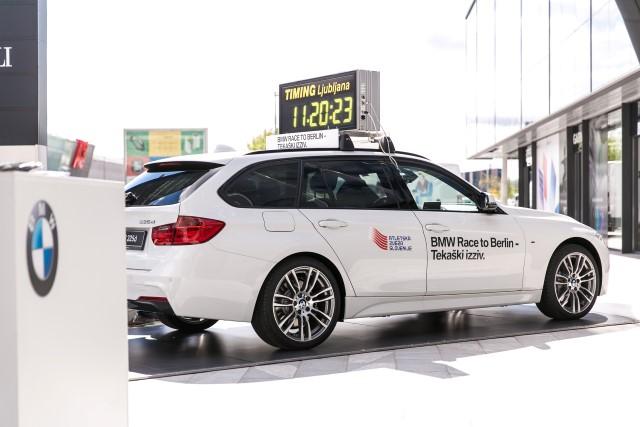 BMW Race to Berlin je tekaški izziv, ki ponuja enkratno priložnost – udeležbo na 41. BMW Berlinskem maratonu