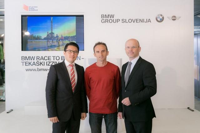Na BMW tekaški izziv se lahko prijavi vsak rekreativni tekač, starejši od 18 let.