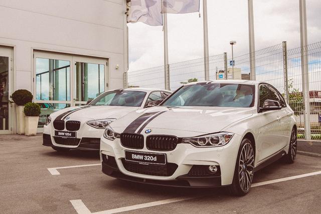 Vsi deli dodatne opreme BMW M Performance so na voljo posamično