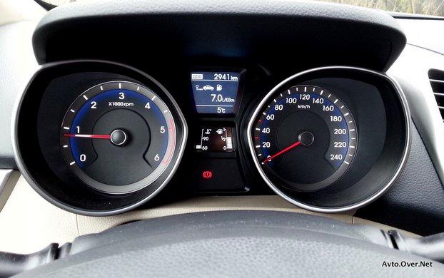 hyundai i30 coupe 2014 merilnik hitrosti
