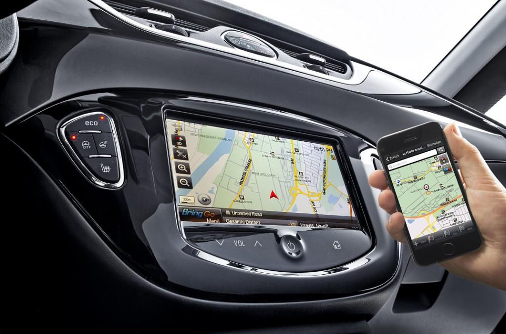 Sistem IntelliLink je opremljen s sedempalčnim barvnim zaslonom za upravljanje na dotik