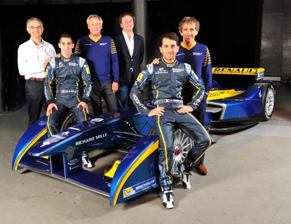 Moštvo formule E, ki ga je podprl Renault