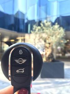 Ključ, ki daje vedeti, da vozite avto s stilom