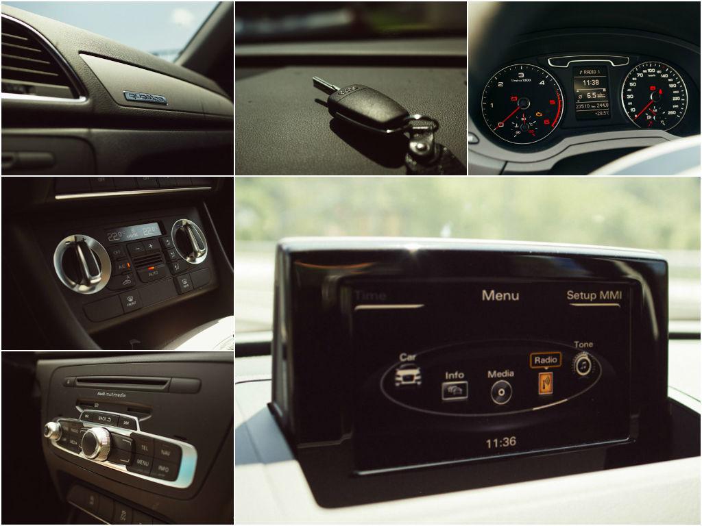 """Ključ ostaja """"klasika"""", Quattro nakazuje, da gre za resen avtomobil."""