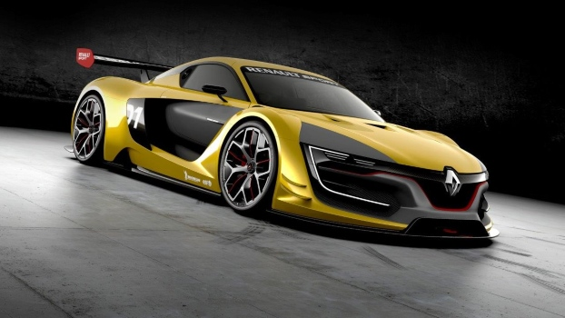 Renault  Sport  R.S.  01  je križanec oblike oblikovalske študije Renault DeZir in zmogljivosti dirkalnika formule Renault 3,5