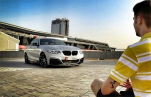 Iztok in BMW 235i - iz oči v oči.