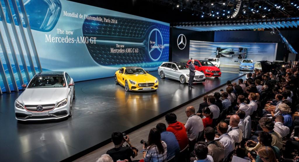 """Mercedes-Benz und smart auf der """"Mondial de l´Automobile Paris 2014""""Mercedes-Benz and smart at the """"Mondial de l´Automobile Paris 2014"""""""