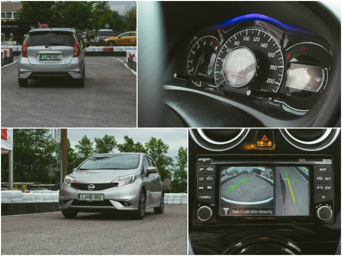 Notranjost je izjemno pregledna.  Kamere za pomoč pri parkiranju delo na parkirišču zelo olajšajo.