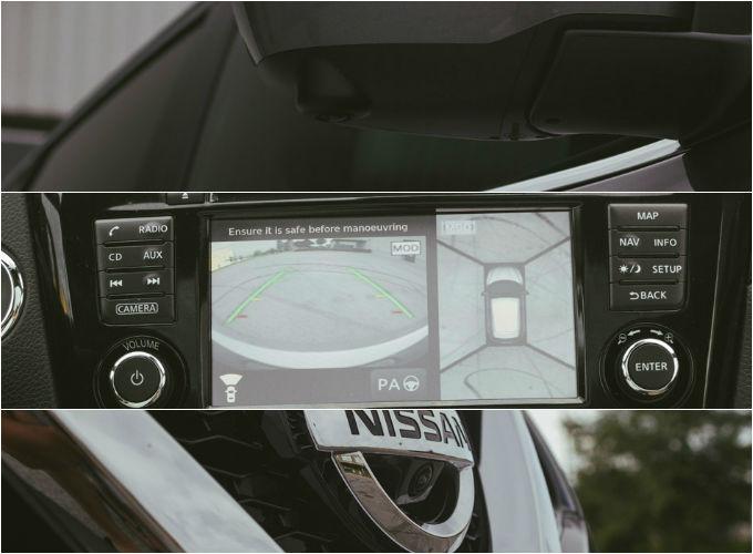360 stopinjska kamera olajša parkiranje