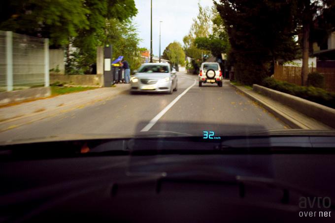 Head-up zaslon je novost v tem razredu, ki ga je prinesla prav Mazda3.