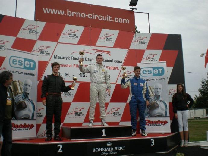 Zmaga na dirki slovenskega državnega prvenstva v Brnu