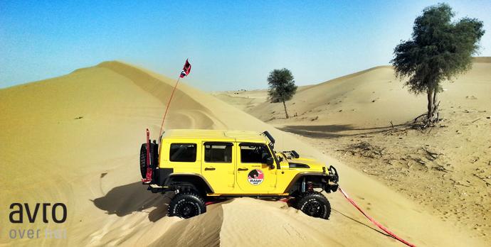 alsarab stuck jeep ramy 4x4 2015