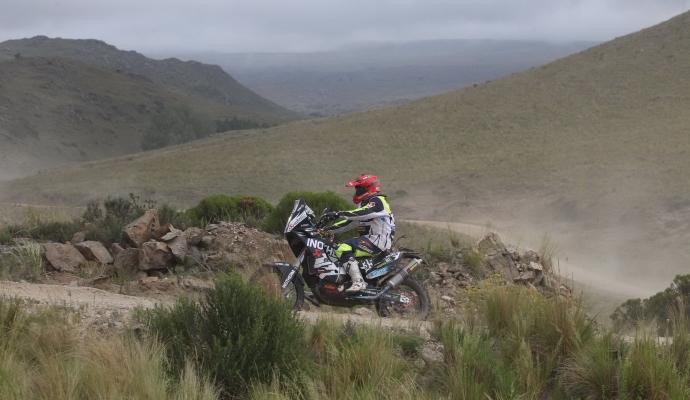 2. etapa Dakarja 2015 je bila za Stanovnika najtežja v karieri