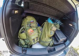 jeep renegade prtljažnik