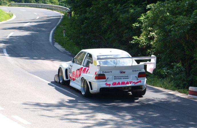 Andreas Gabat, drugouvrščeni med turnimi avtomobili