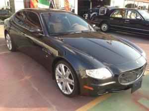 Maserati Quattroporte (foto: drivearabia.com)
