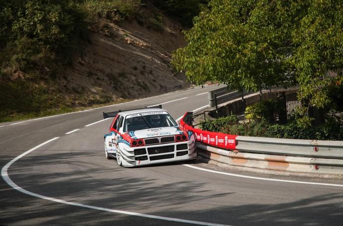 Bubničeva Lancia je konkurenčna tudi strupenim avstrijskim dirkalnikom