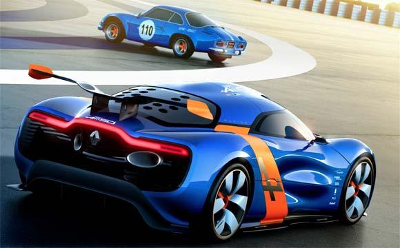 Renault alpine studija 2012